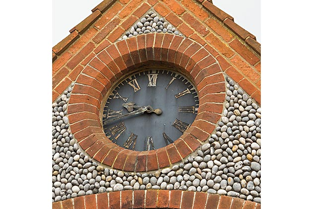 The Clock House's clock face
