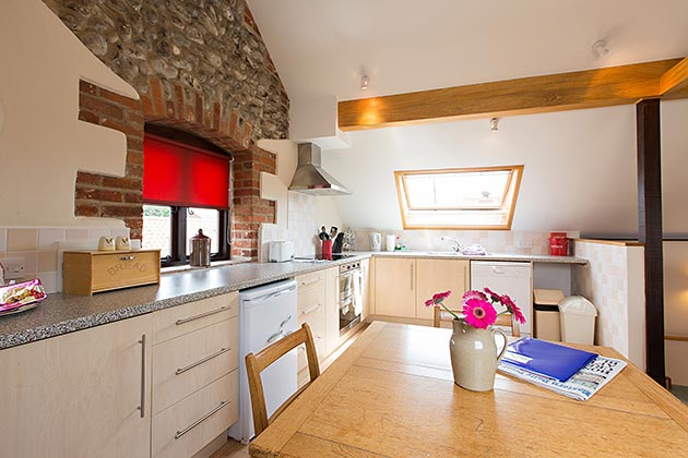 Lapwing Cottage's kitchen