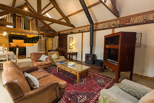 Rosedale Barn Cottage's lounge