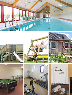 Shared facilities: swimming pool, games room, play area, mini gym, beauty room, gardens